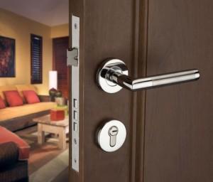 врата с дръжка за панел