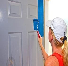 Идеи за декориране на интериорни врати
