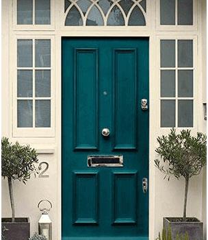 Основни предимства на металните врати като входни