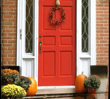 Какво казва цвета на блиндираната врата за вас