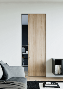 Дървена плъзгаща интериорна врата
