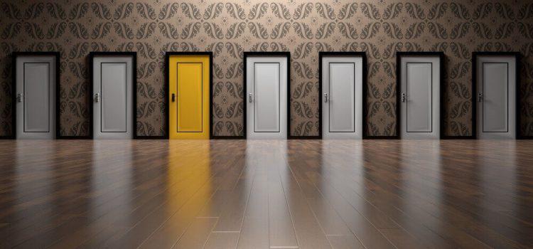 Какви са цветовите тенденции за интериорни врати?
