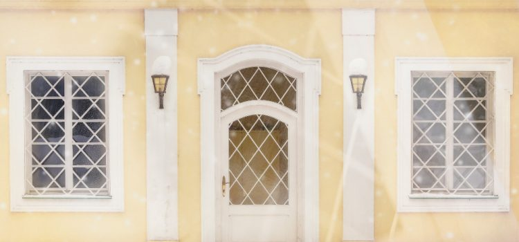 Монтаж на външни врати през зимата