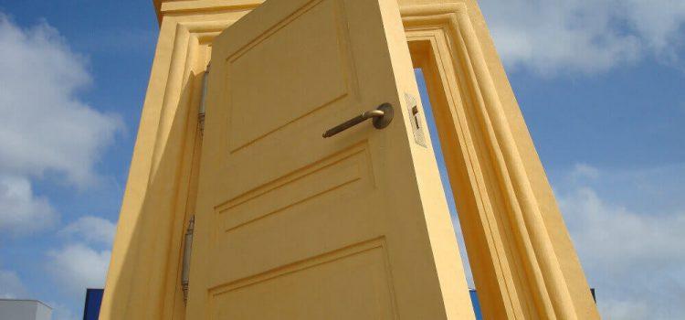 Какви са съставните елементи на вратите?