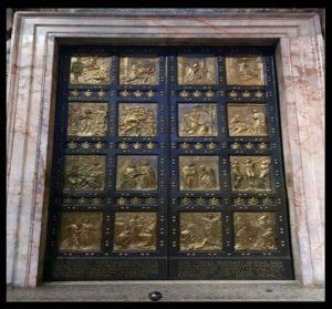 Свещенната врата