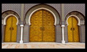 Врати дворец Мароко